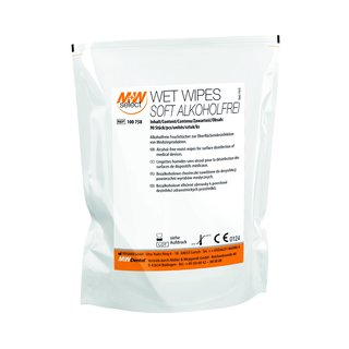M+W SELECT WET WIPES SOFT ALKOHOLFREI