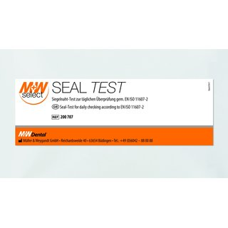 M+W SELECT SEAL TEST