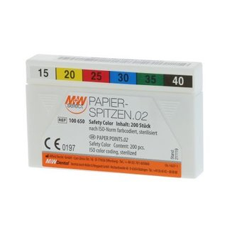 M+W SELECT PAPIERSPITZEN SAFETY COLOR