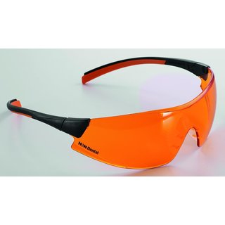 M+W SELECT SCHUTZBRILLE LIGHT ORANGE